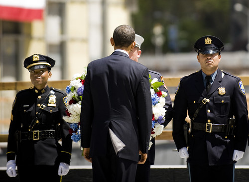 President Obama Lays Wreathe at Ground Zero | by New York City Council