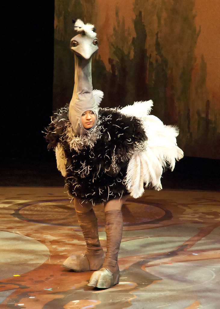 Draper For Ostrich Costume Pcpa Production Of Peter Pan