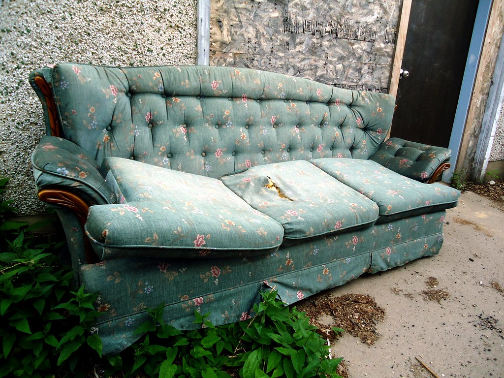 Old Couch Brandon Giesbrecht Flickr