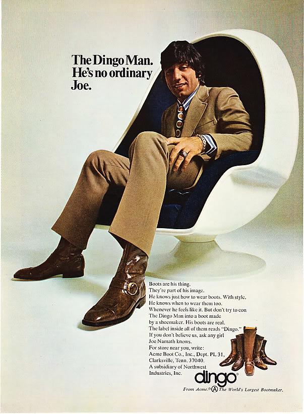 1971 Dingo Boots Ad Www Scanagogo Com Scanagogo Flickr
