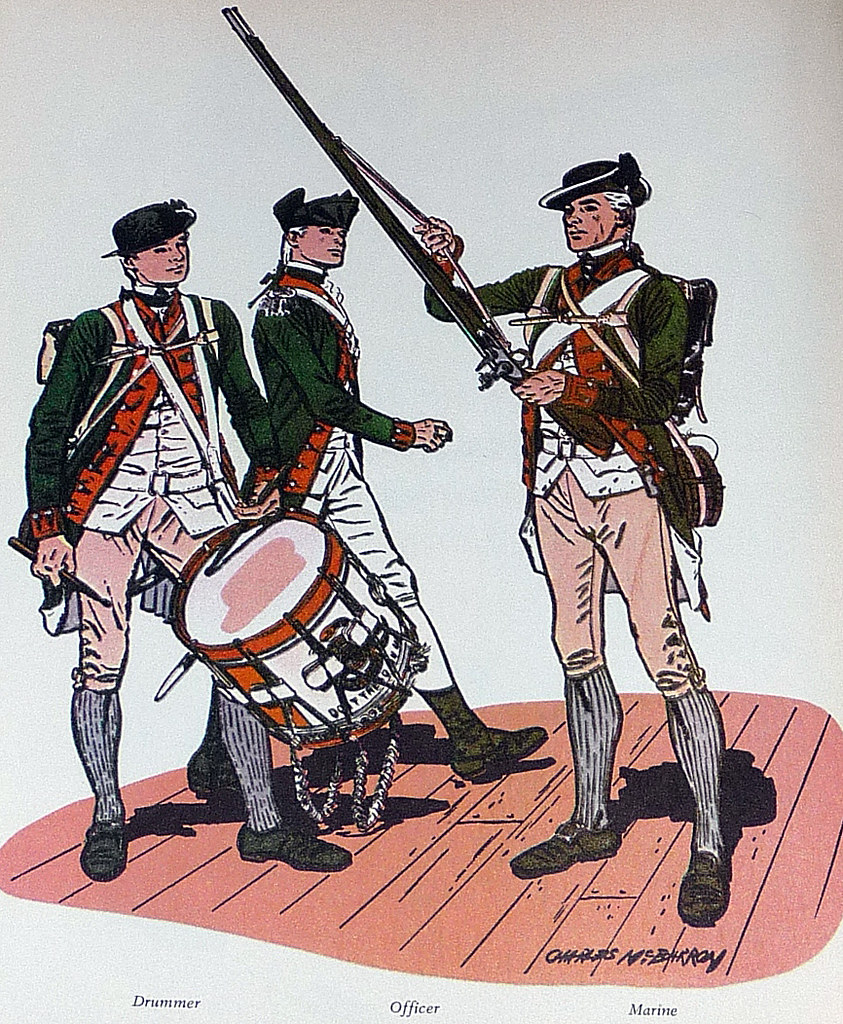 Capt Robert Mullan's Continental Marines 1779 | David ...