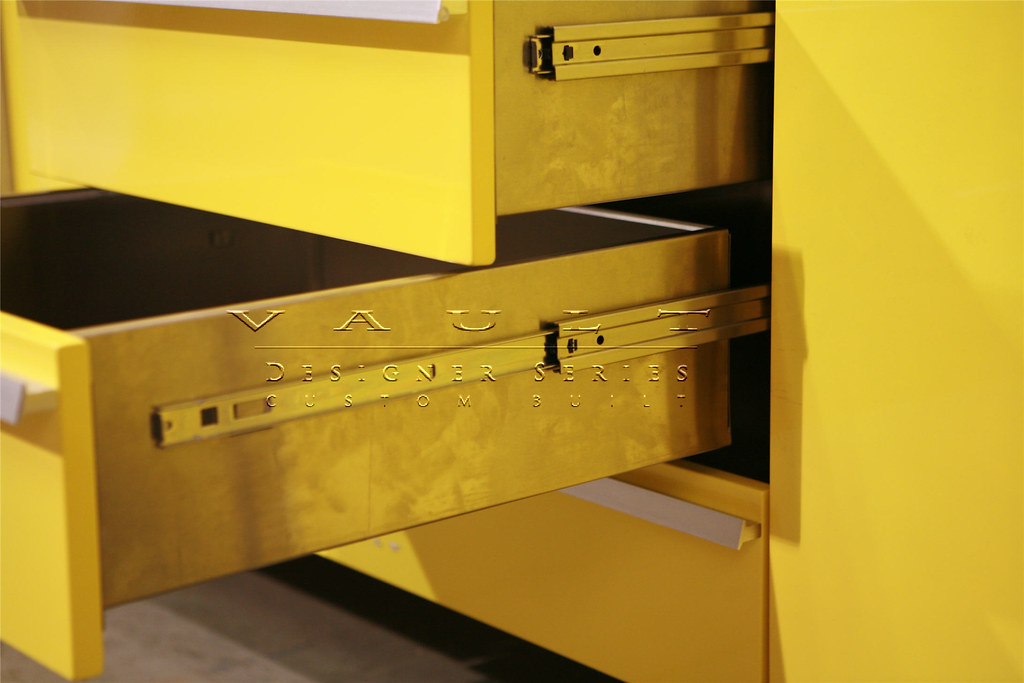 Full Length Drawer Slides On Designer Series Cabinets By
