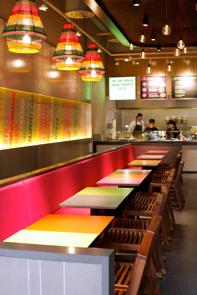 Restaurant bar design awards 2011 chilango kent fu for Food bar 36 cafe