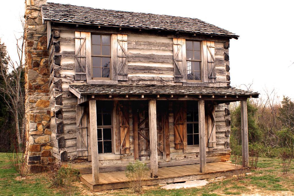 Kentucky Log Cabin My Old Kentucky Home Robin Flickr