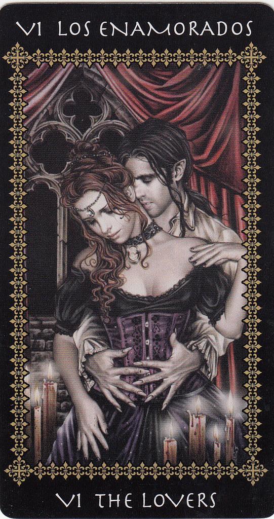 the lovers victoria frances tarot card  victoria