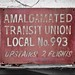 Transit Union Sign