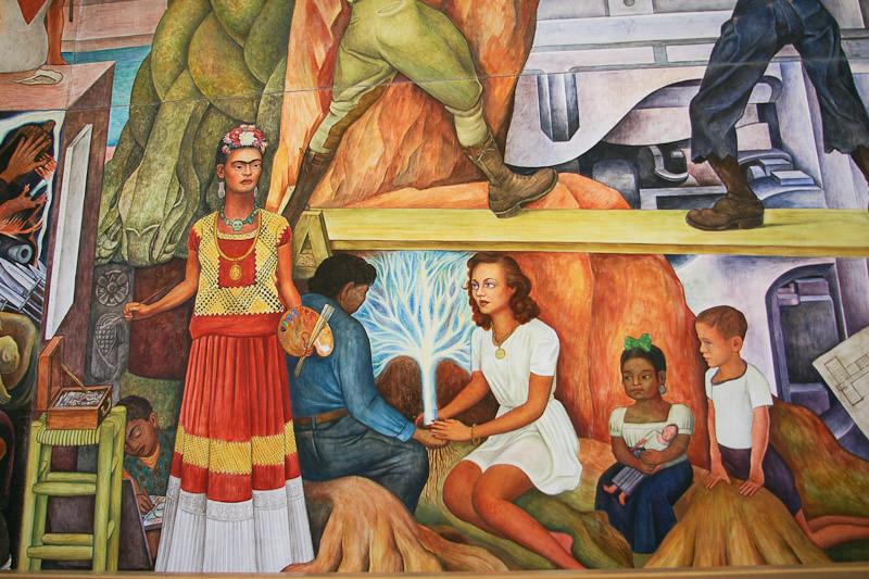 Pan american unity frida kahlo diego rivera and for Diego rivera pan american unity mural