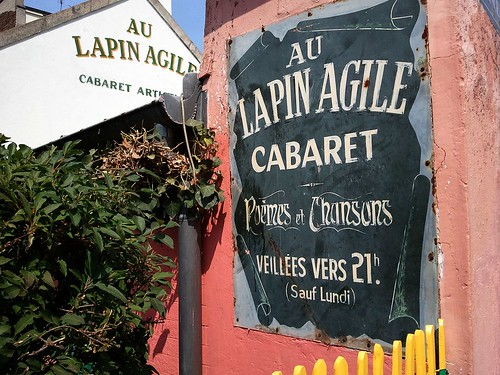 Lapin Agile in Montmartre | by L.Burchfield
