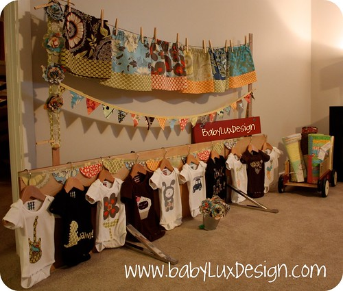 Babylux design craft show test run flickr photo sharing for Clothing display ideas for craft shows
