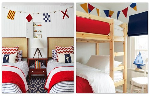 Red white blue kids room inspiration flickr photo for Boys red and blue bedroom ideas