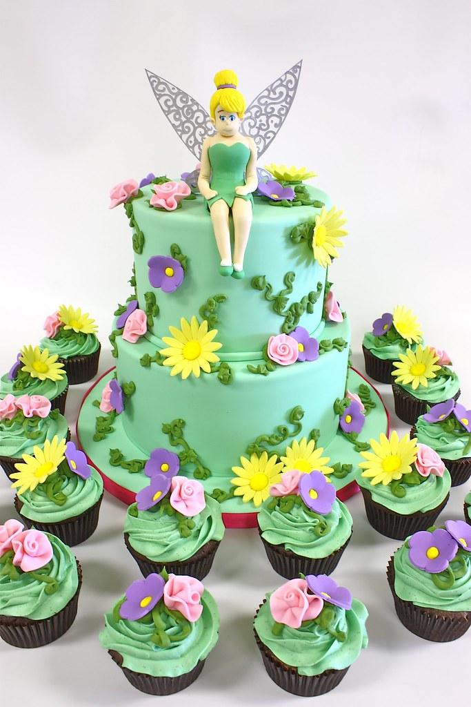 tinkerbell 3d cake