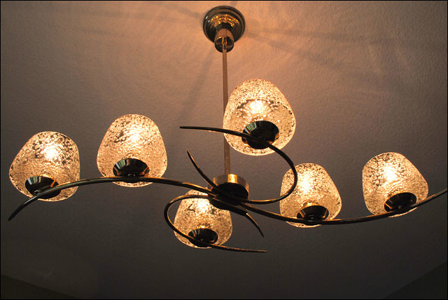 1948 Original Dining Room Light Fixture | From the Mid ...