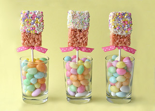 Spring Rice Krispies Pops | by Glorious Treats