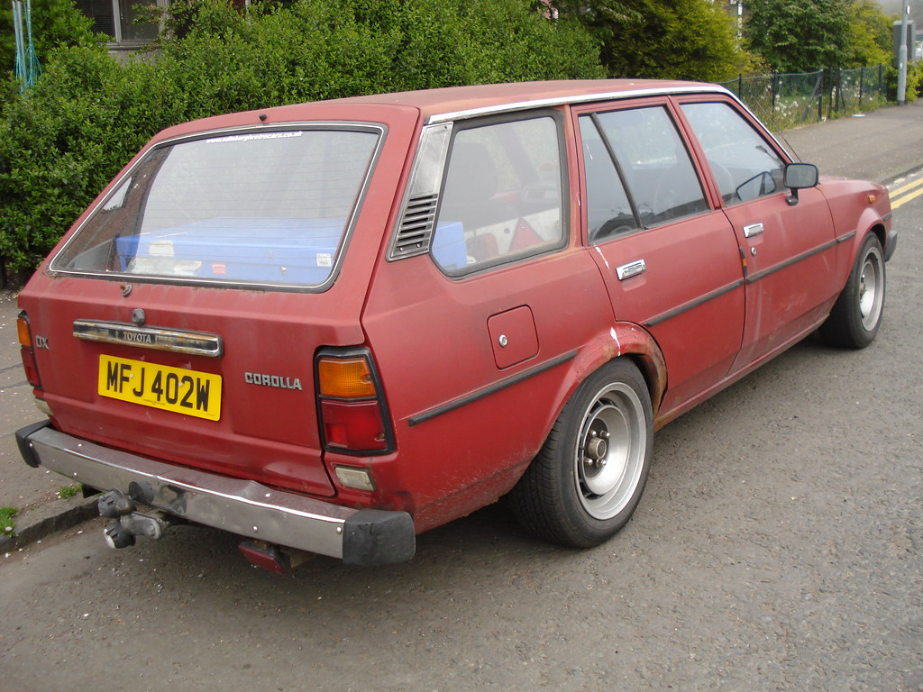 1980 Toyota Corolla 1 3 Dx Estate Alan Gold Flickr
