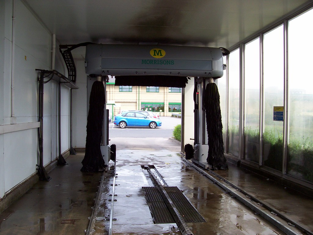 Car Wash Brush >> Morrisons Car Wash. 020 | Note No Jointed Brush Device. | Flickr
