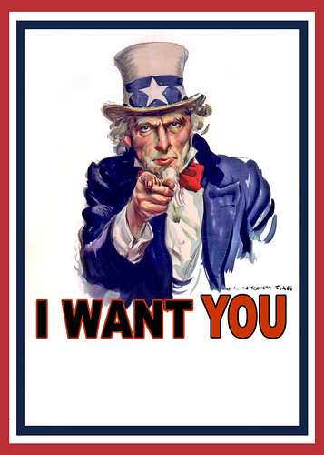 Uncle Sam I Want You - Poster | by DonkeyHotey