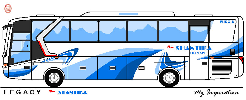 Bus New SHANTIKA With Legacy