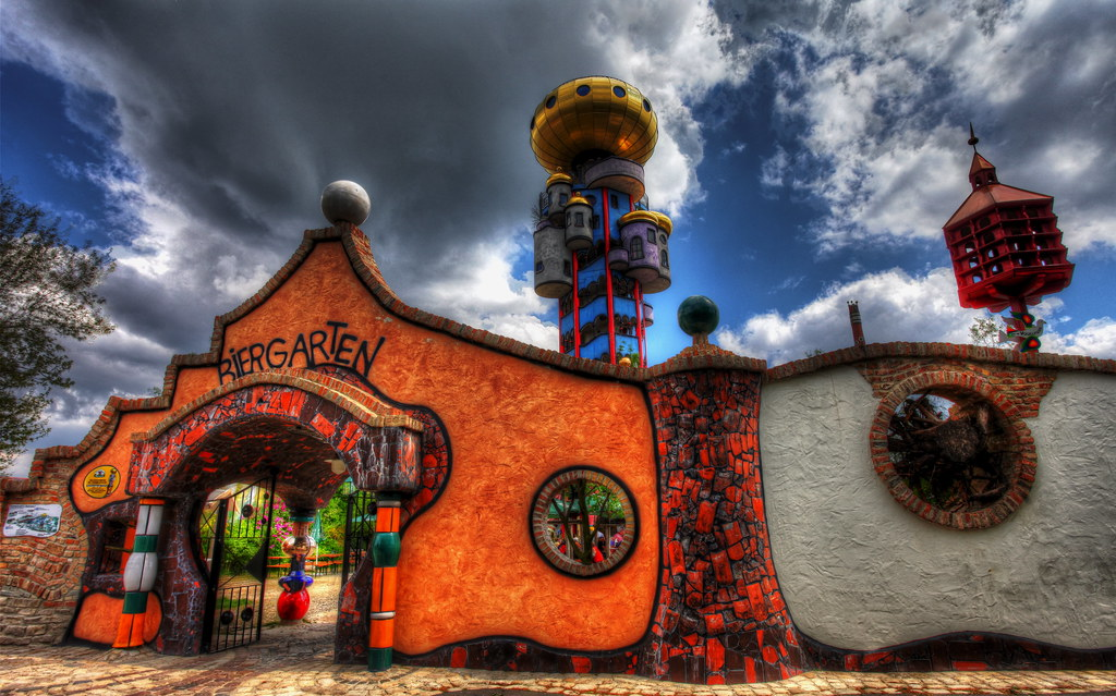 Jamestown elementary art blog reporting fifth grade for Architecture hundertwasser
