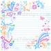 Sketchy Back to School Notebook Doodles by blue67design