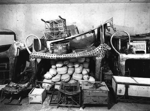 Tumba de Tutankhamon - Harry Burton - KV-62