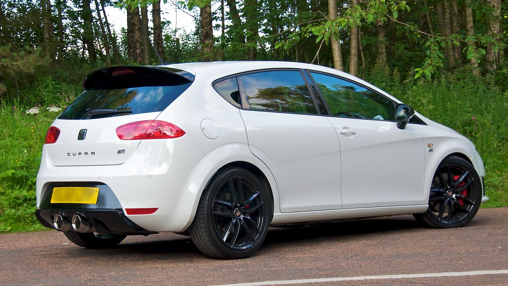 2010 seat leon cupra r now with milltek turbo back race e flickr. Black Bedroom Furniture Sets. Home Design Ideas