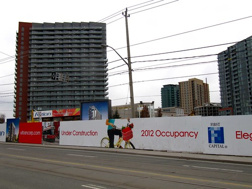 Toronto Condo Development Bicycles | by James D. Schwartz