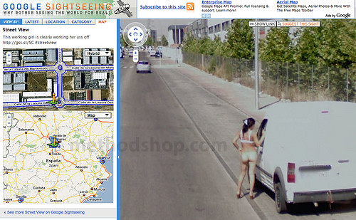 Something nude google street view locations confirm