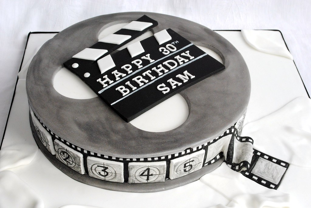 Cake With Photo Reel : Cake Film Reel images