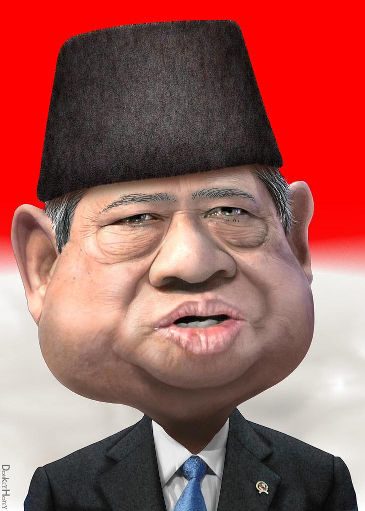 Susilo Bambang Yudhoyono - Caricature | Susilo Bambang ...