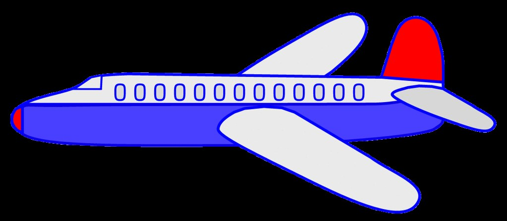 clipart picture of an airplane - photo #45