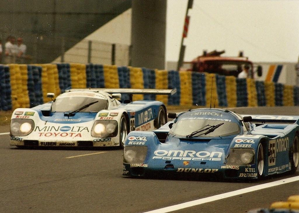 Toyota Amp Porsche Le Mans 1990 Eje Elgh Thomas