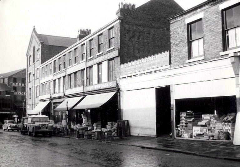 White Motor Company >> Liverpool Street, Preston c.1960 | Buildings demolished in ...