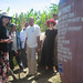Inspecting Banga Pinoy Water Tank in Compostela Valley