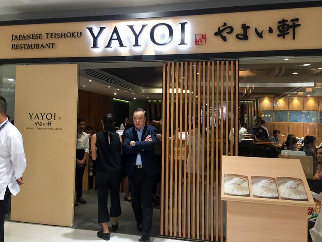 Yayoi Japanese Teishoku Restaurant Manila