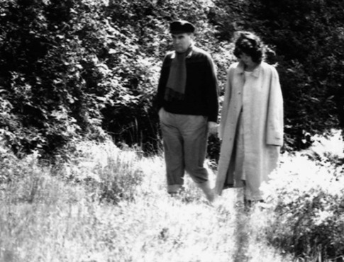 16j08 FM y Anne Pingeot Enero 1981 Foto ¿? Uti 485