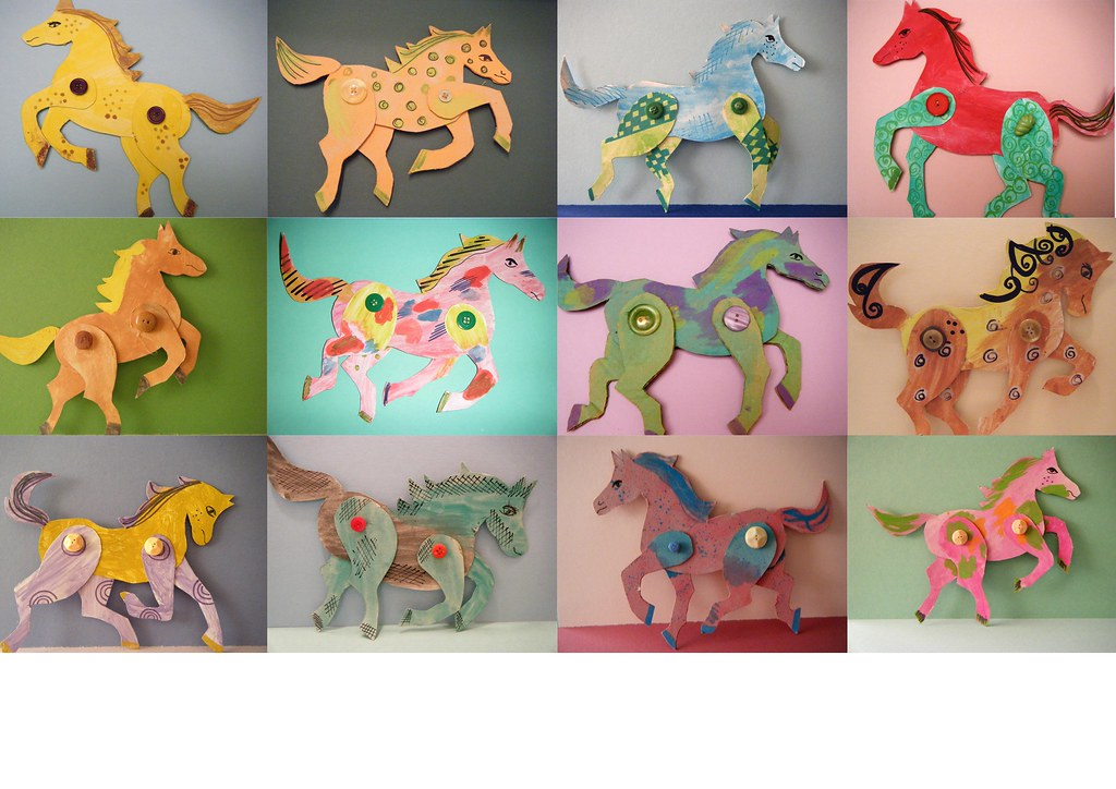 Horse Craft Ideas For Camp
