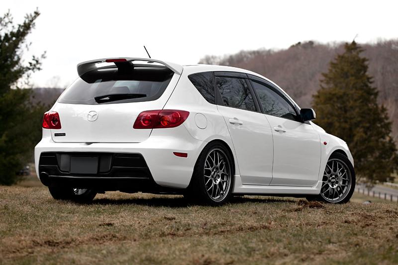 2008 Mazdaspeed3 2008 Mazdaspeed3 Crystal White Pearl