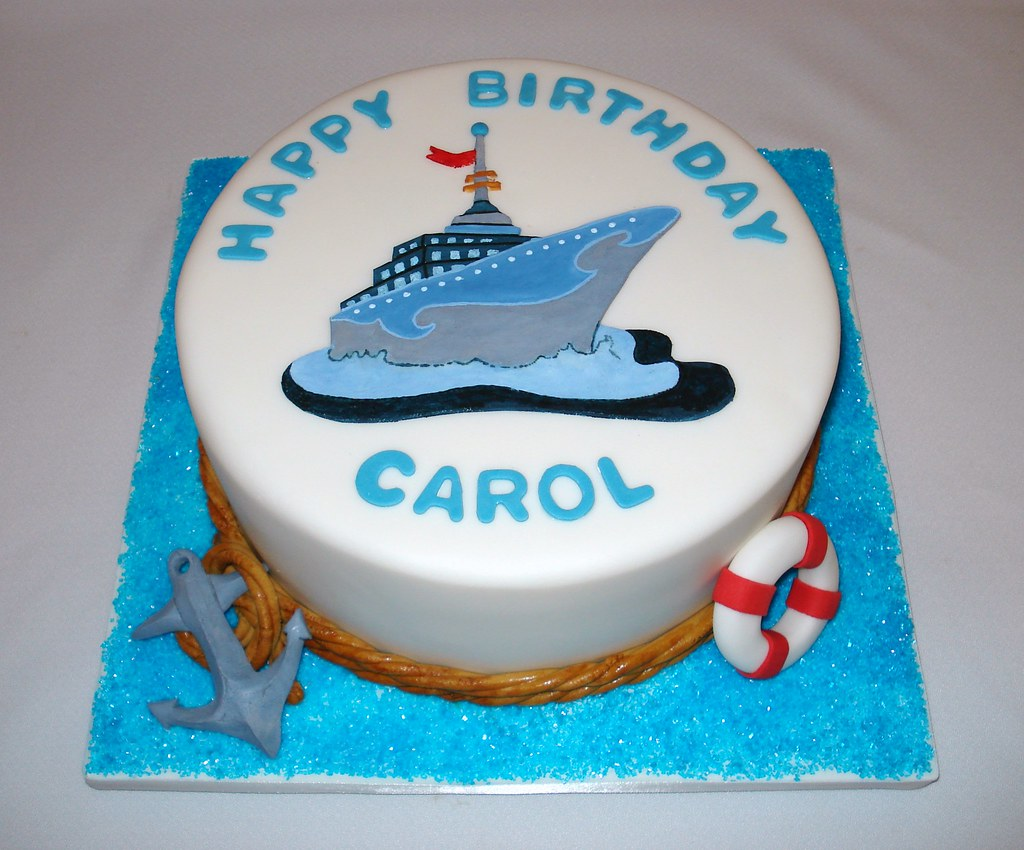 birthday cake ship