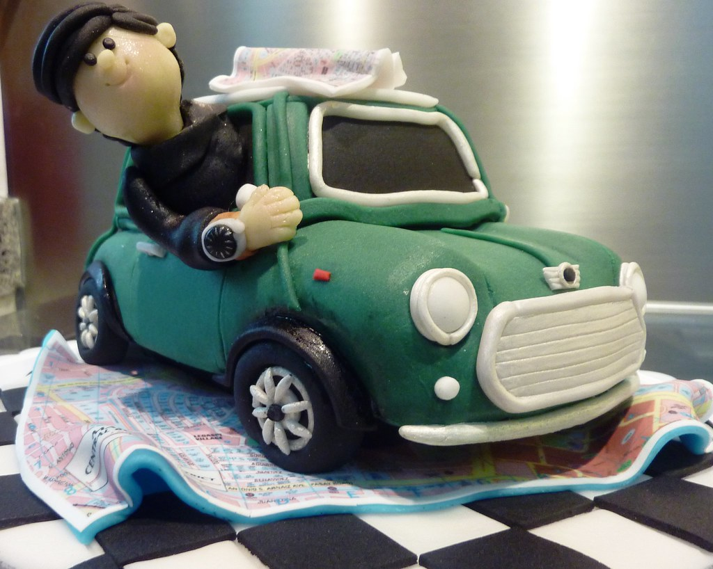 mini cooper wedding cake topper mini cooper cake topper quot miss quot oc s kitchen flickr 17393