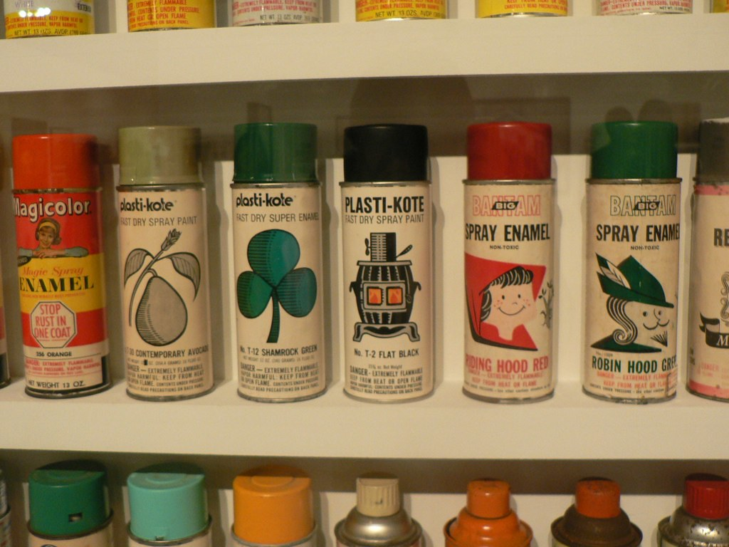 old school spray paint moca la phortin flickr
