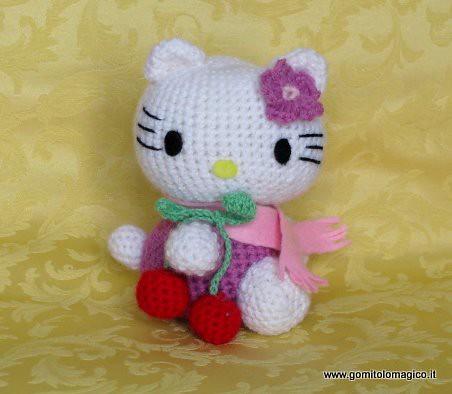 Amigurumi Schemi Hello Kitty Gratis : Hello Kitty Questo e tanti altri schemi gratis su www ...