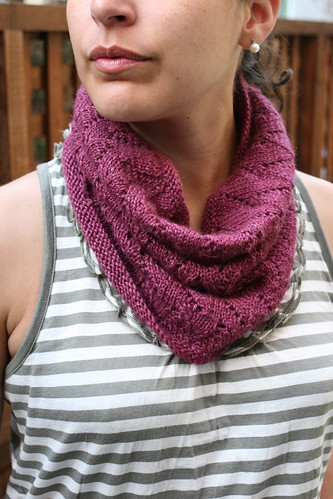Felicity Cowl | by tentenknits