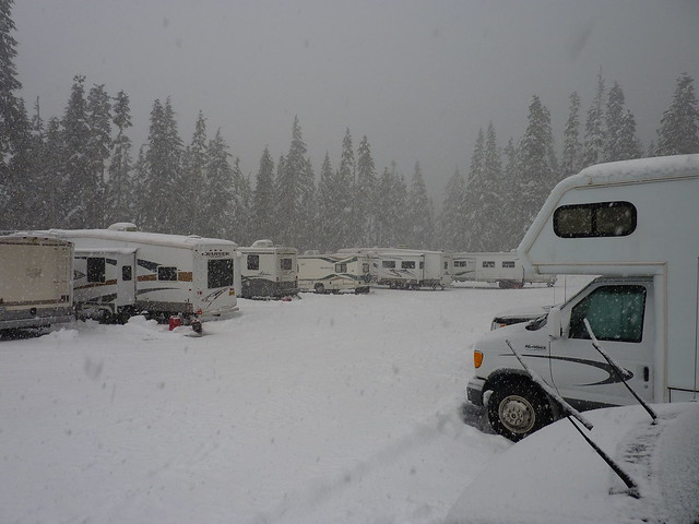 White Pass RV Lot