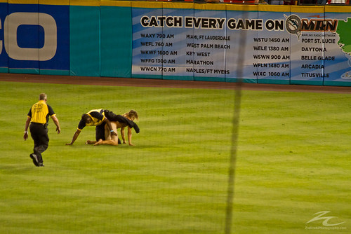 streaker at Marlins/Cubs game 5/18/12 | by zielinskiCreative