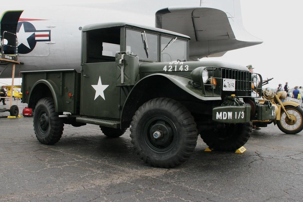 An old Army Jeep Truck | An old Army Jeep Truck at Wings N ...