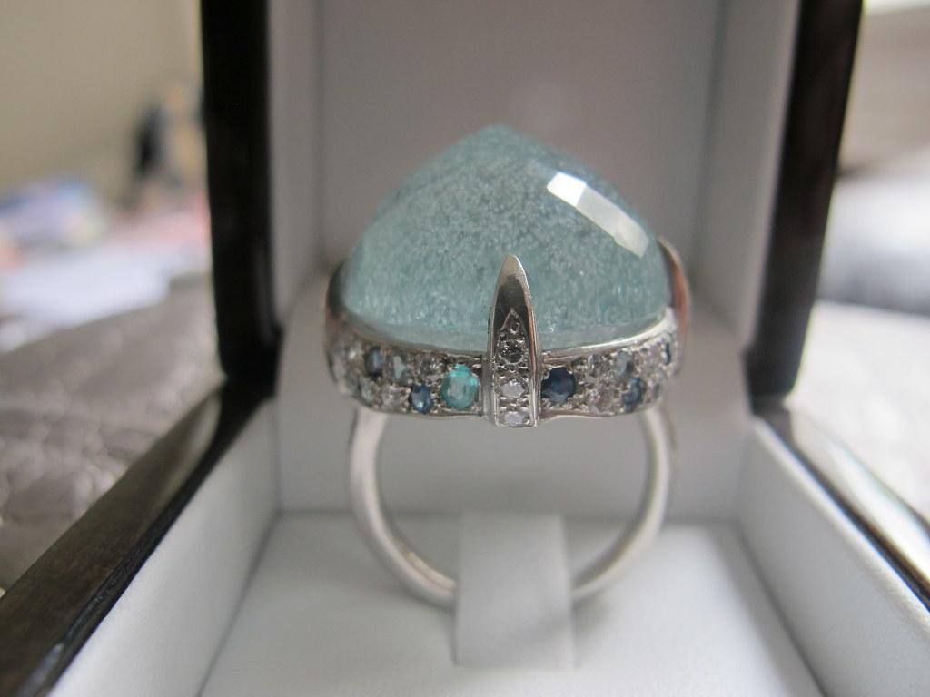 Stone Gold Diamond Ring