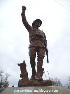 Sculpture Doughboy