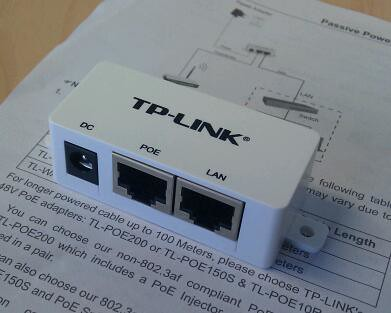 how to connect cords to tp-link