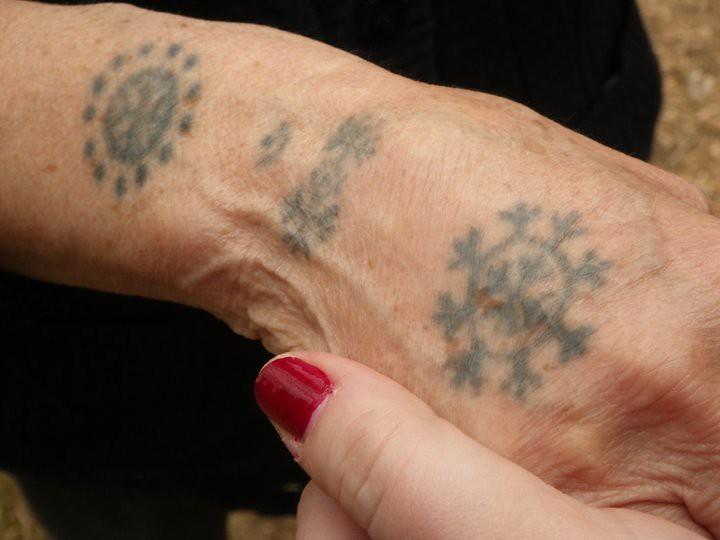 Traditional croatian catholic tattoo bih in rama photo for Can catholics get tattoos