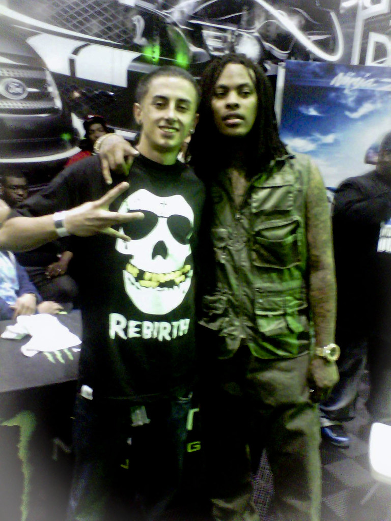 Waka Flocka Flame at the Dub Car Show 2011 with @DLocDirty ...